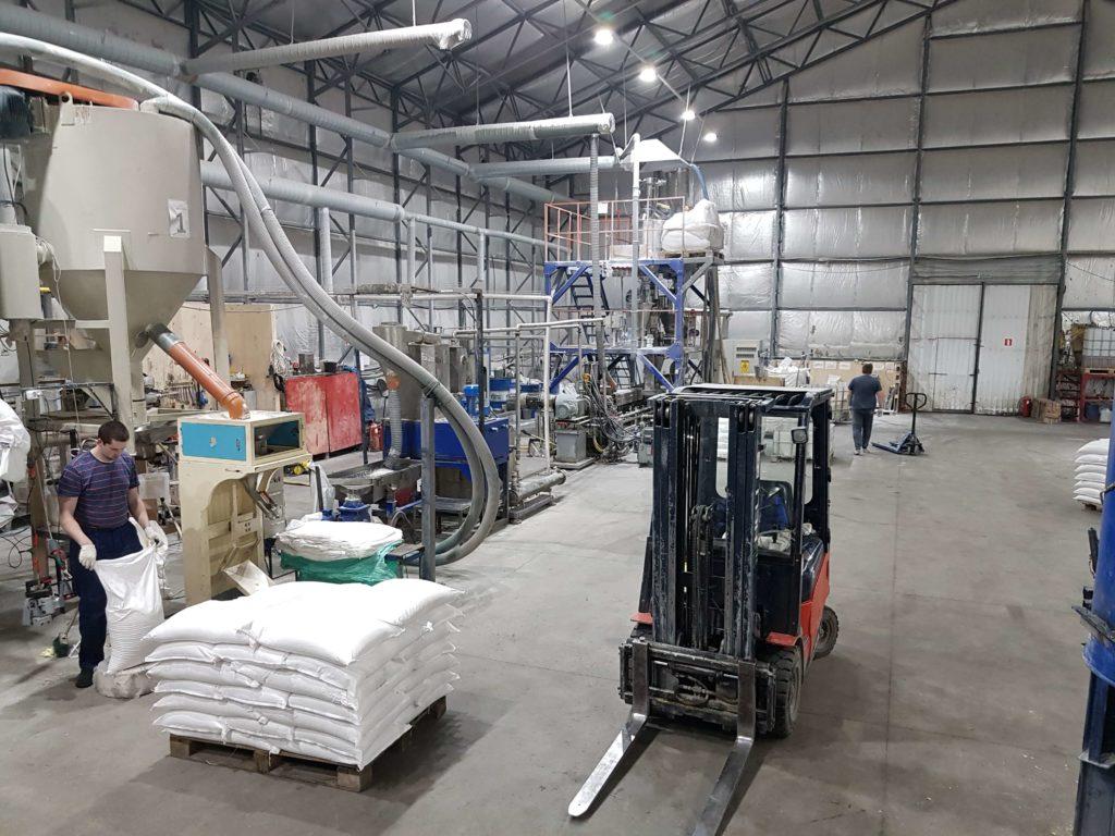 Производство - термоэластопласты для изготовления гибких шлангов